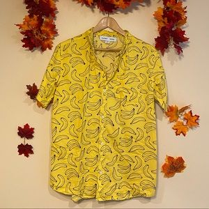 3 for $35 | Banana Button Down, Y- xxl, Women's- S